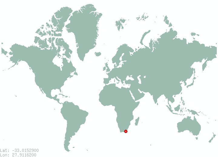 east london in world map